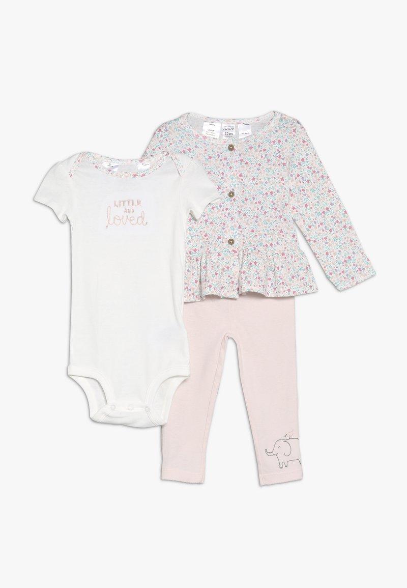 Carter's - CARDI BABY SET  - Strikjakke /Cardigans - pink