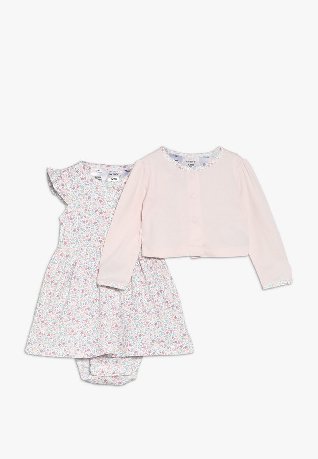 DRESS BABY SET - Strickjacke - pink