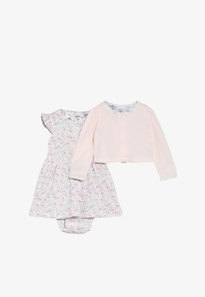 DRESS BABY SET - Strikjakke /Cardigans - pink