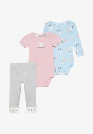 LITTLE CHARACTER BABY SET - Leggings - Trousers - multi-coloured