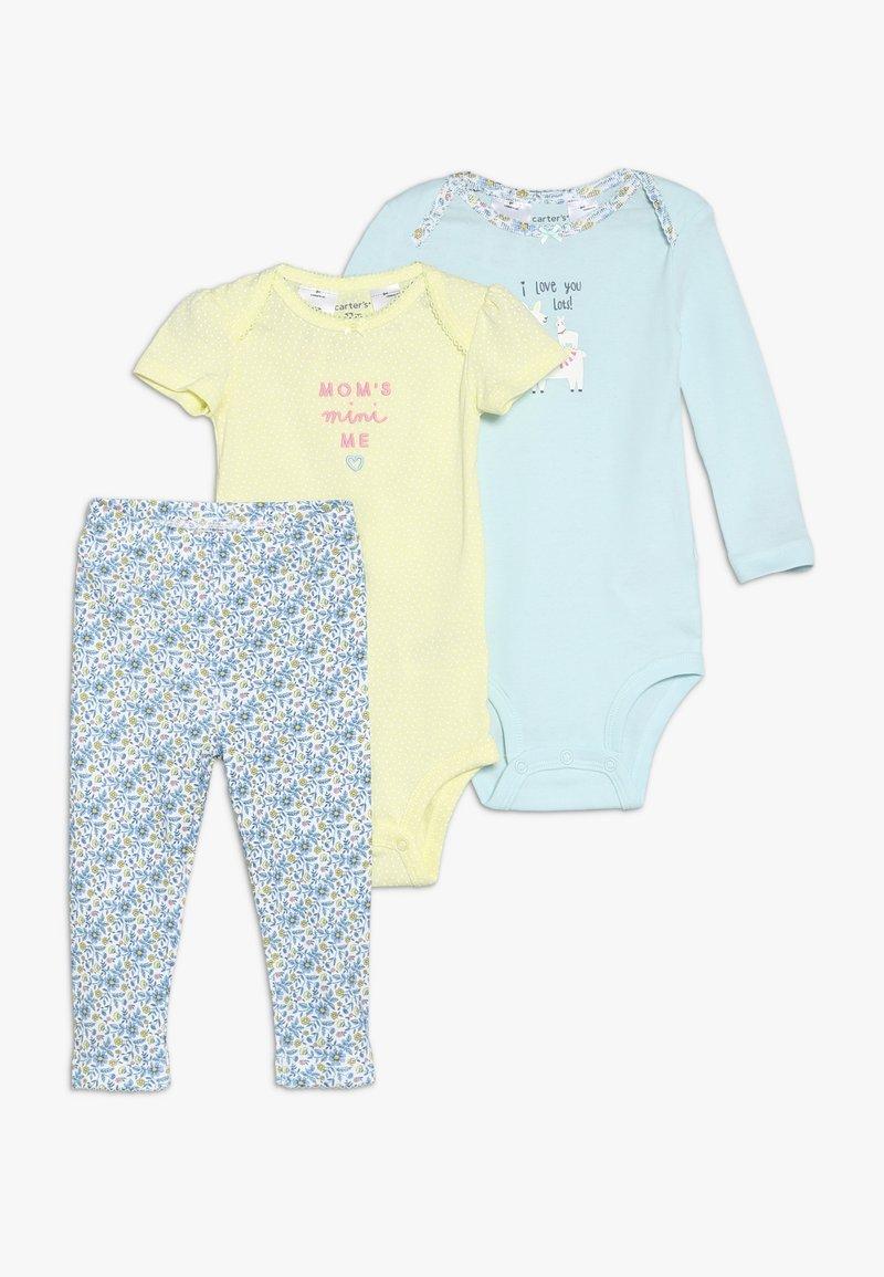 Carter's - LITTLE CHARACTER BABY SET - Leggings - yellow