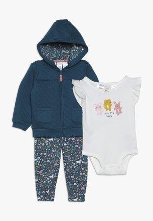 BABY SET - Felpa aperta - multicolor