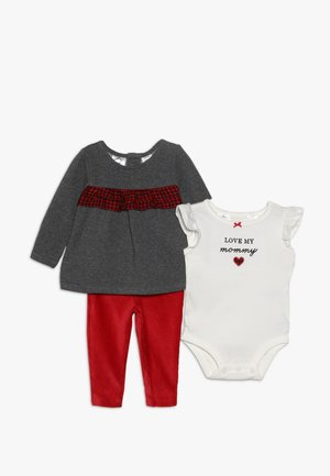 BABY SET - Felpa - red