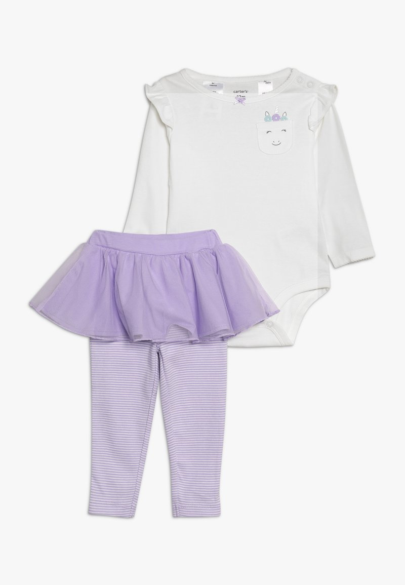 Carter's - BABY SET - Body - purple