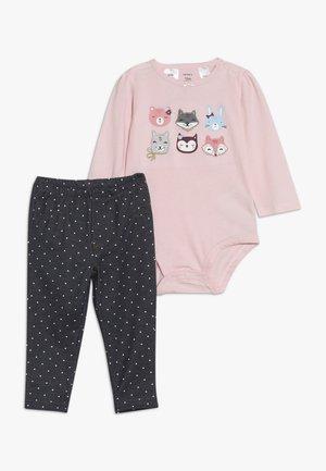 GIRL BABY SET - Tygbyxor - pink