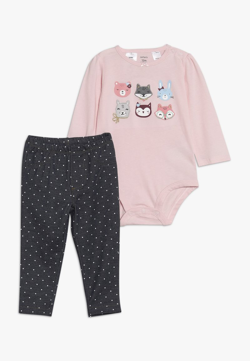 Carter's - GIRL BABY SET - Tygbyxor - pink
