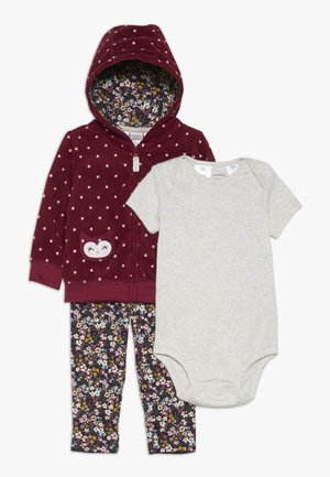 BABY SET - Body - burgundy