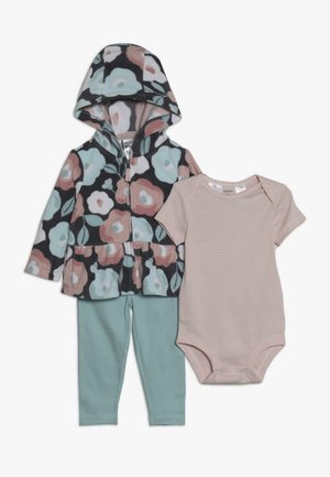 CARDIGAN BABY SET - Body - multi-coloured