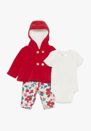 CARDIGAN BABY SET - Body - red