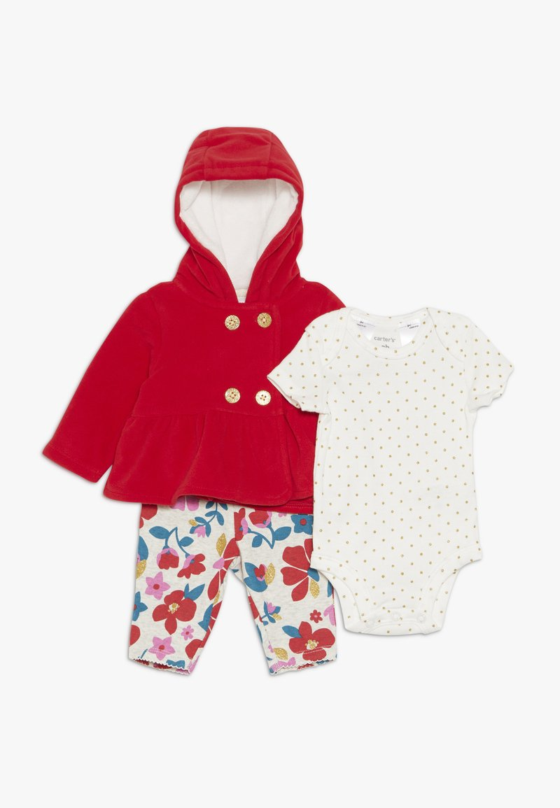 Carter's - CARDIGAN BABY SET - Body - red