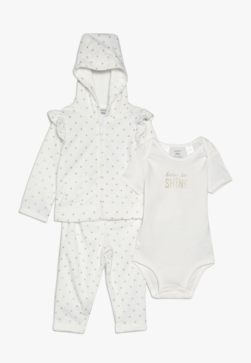 Carter's - CARDIGAN BABY SET  - Body - ivory