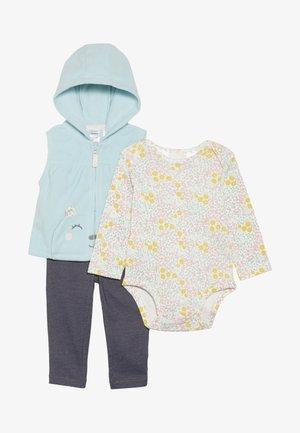 VEST BABY SET - Veste sans manches - turquoise