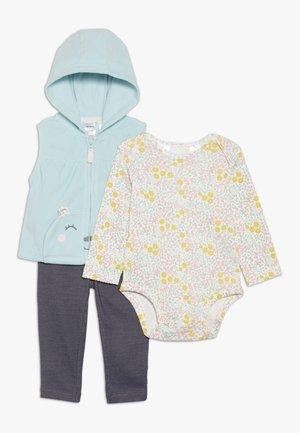 VEST BABY SET - Smanicato - turquoise
