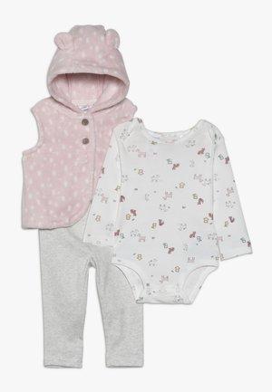 VEST BABY SET - Body - pink