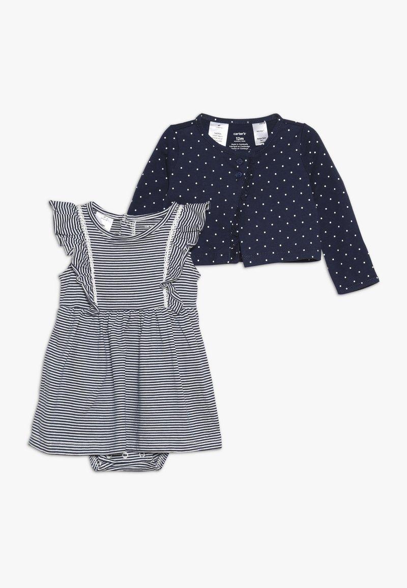 Carter's - BODYSUIT DRESS BABY SET - Kofta - blue