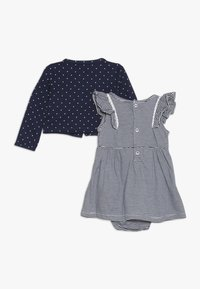 Carter's - BODYSUIT DRESS BABY SET - Strikjakke /Cardigans - blue - 1