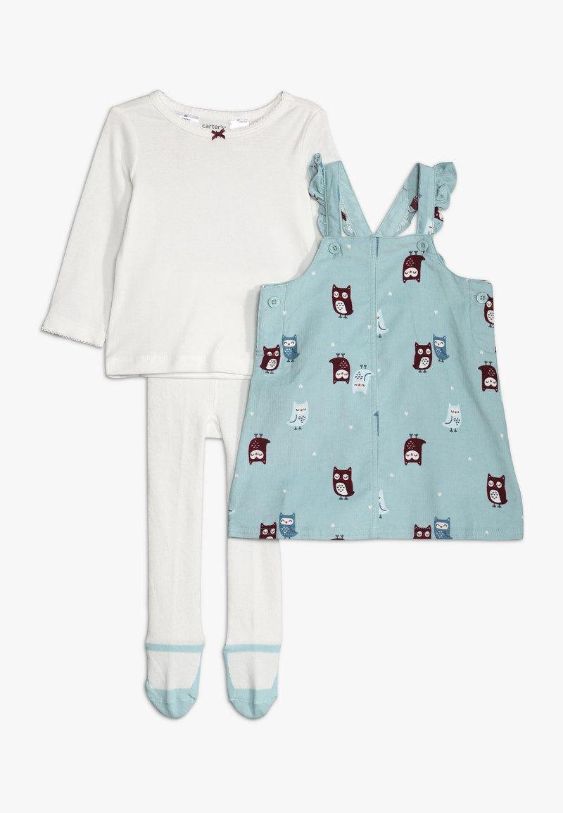 Carter's - JUMPER BABY SET - Vestito estivo - turquoise
