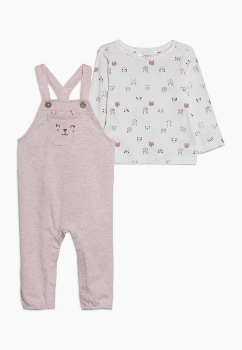Carter's - OVERALLS BABY SET - Dungarees - pink