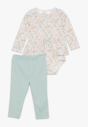 FLORAL BABY SET - Leggings - multi-coloured