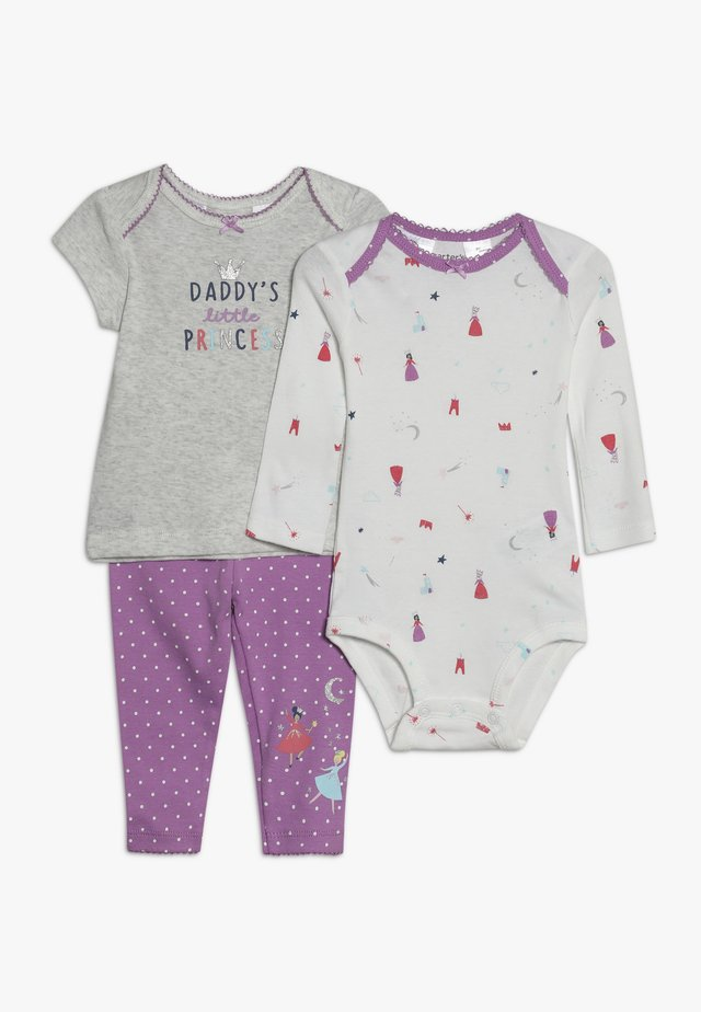 PRINCESS BABY SET - Body - purple