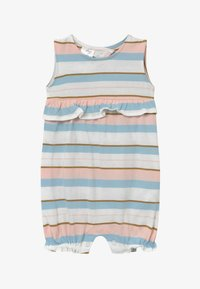 Carter's - STRIPE RUFFLE - Overall / Jumpsuit /Buksedragter - white, light pink - 2