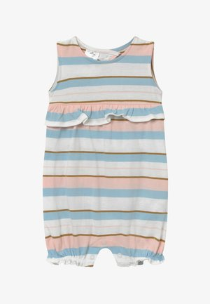 STRIPE RUFFLE - Overall / Jumpsuit /Buksedragter - white, light pink