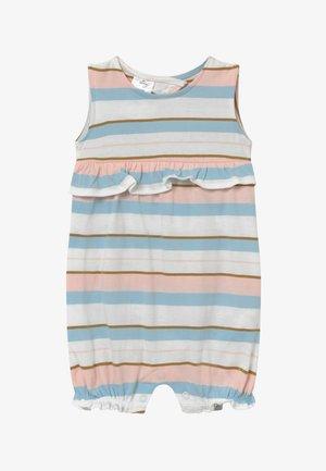 STRIPE RUFFLE - Jumpsuit - white, light pink