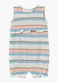 Carter's - STRIPE RUFFLE - Overall / Jumpsuit /Buksedragter - white, light pink - 0