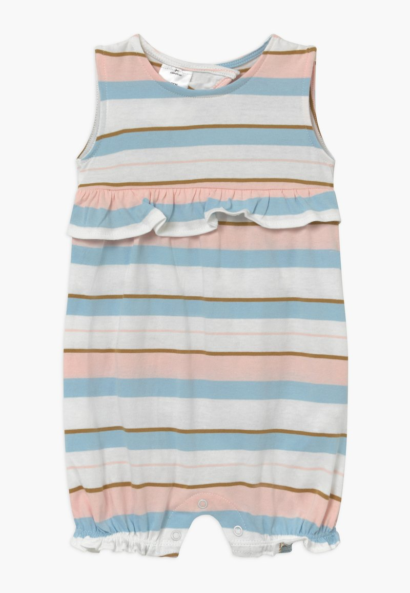 Carter's - STRIPE RUFFLE - Overall / Jumpsuit /Buksedragter - white, light pink