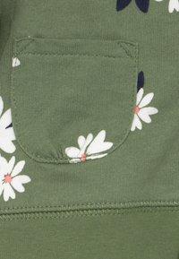 Carter's - FLORAL SET - Mikina na zip - olive - 4