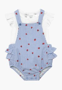 Carter's - SHORTALL LADYBUGS SET - Body - blue - 0