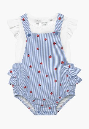 SHORTALL LADYBUGS SET - Body - blue