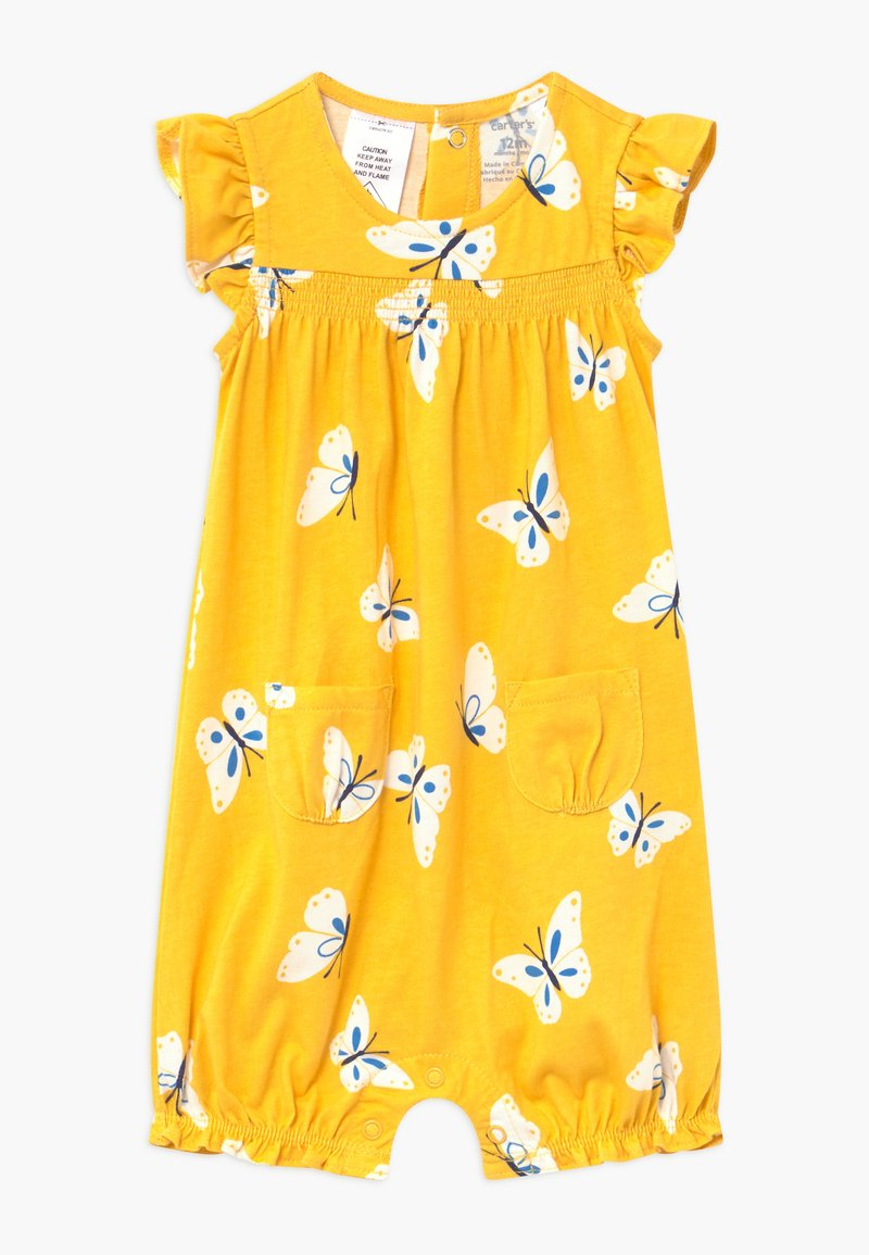 Carter's - FLORAL - Jumpsuit - yellow