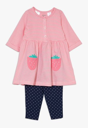 STRAWBERRIES SET - Leggingsit - multicolor