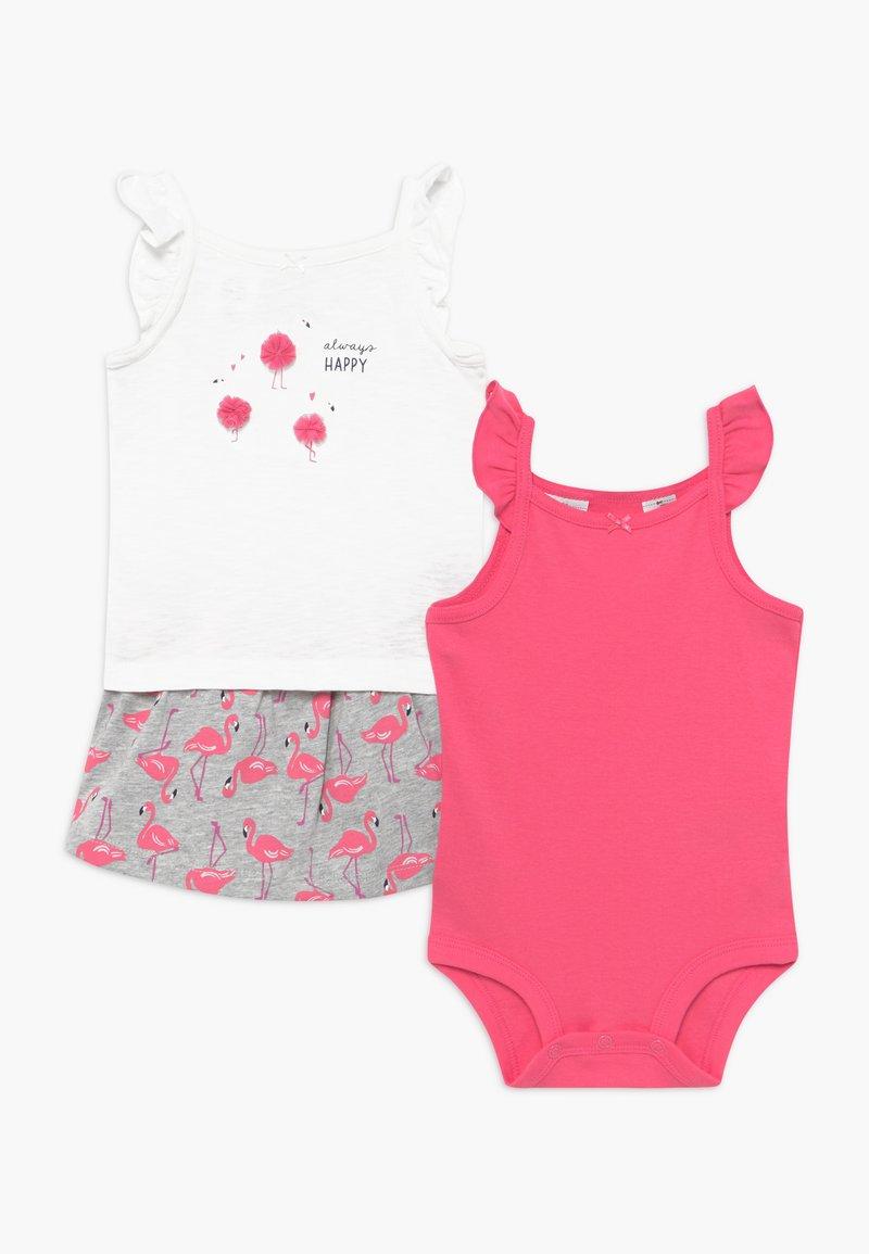 Carter's - FLAMINGOS SET - A-lijn rok - pink