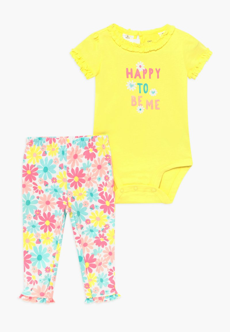 Carter's - MULTI FLOWERS SET - Leggingsit - yellow