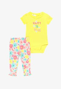 Carter's - MULTI FLOWERS SET - Leggingsit - yellow - 3