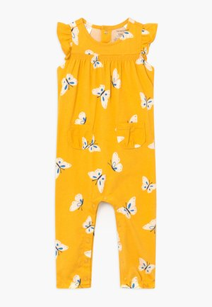 FLORAL - Jumpsuit - yellow