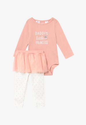TUTU SET - Leggings - light pink/white
