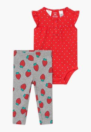 STRAWBERRIES SET - Legging - red