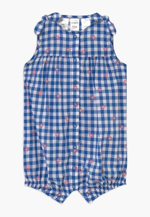 GINGHAM - Jumpsuit - blue