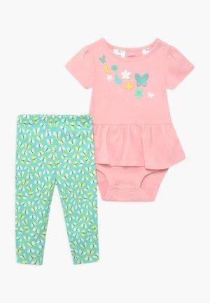 BUTTERFLIES SET  - Leggings - pink