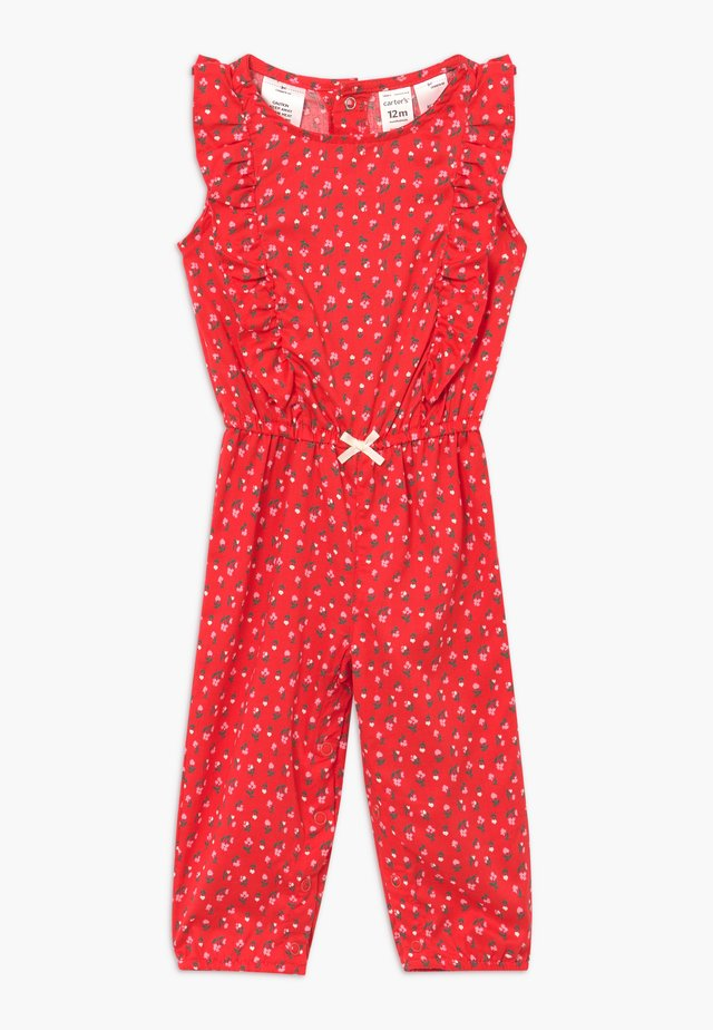 FLORAL - Overall / Jumpsuit - pink
