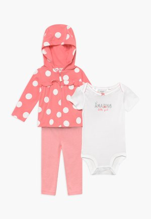 SET - Cardigan - pink