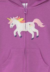 Carter's - UNICORN SET - Zip-up hoodie - purple - 4