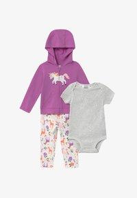 Carter's - UNICORN SET - Zip-up hoodie - purple - 3