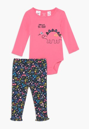DINO SET - Leggingsit - multi-coloured