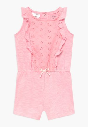 RUFFLE - Overal - pink