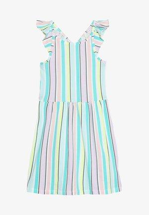 KIDS MULTI VERTICAL STRIPE DRESS - Jersey dress - multi-coloured