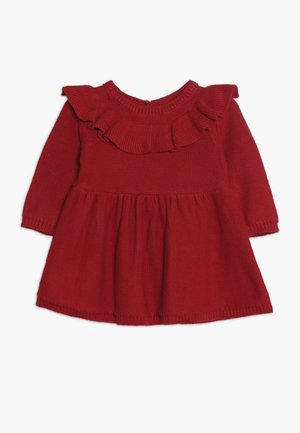 DRESS BABY - Strikkjoler - red